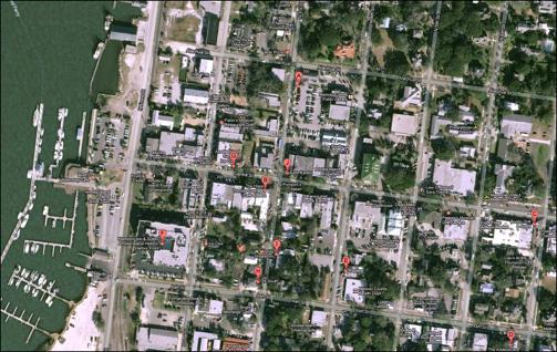 Centre Street Map