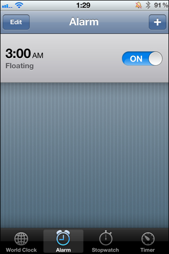 Early Alarm