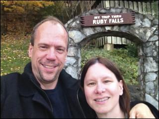 Our Trip Through Ruby Falls