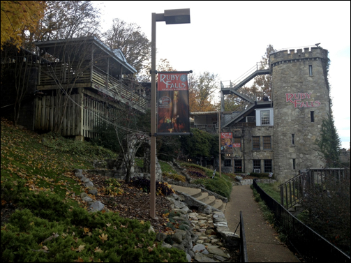 Ruby Falls Entrance